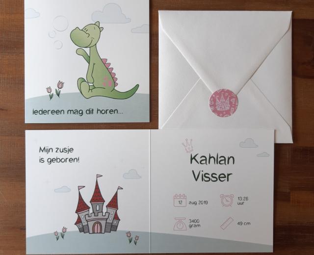 Geboortekaartje Kahlan